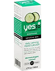 Yes To Cucumbers Soothing Daily Calming Moisturizer, Sensitive Skin 1.70 oz by Yes to Cucumbers
