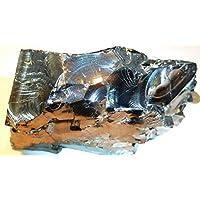 Boviswert EDEL SCHUNGIT, seltene große Brocken, 424,75g, 11x8x7cm, schön und kraftvoll, aus Karelien, mit Zertifikat! preisvergleich bei billige-tabletten.eu