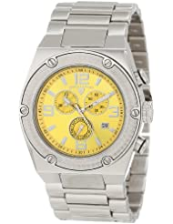 Swiss Legend Herren 40025P-77 Throttle Chronograph Yellow Dial Armbanduhr