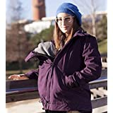 Abrigo de porteo Momawo 4 en 1, Purple Talla XL