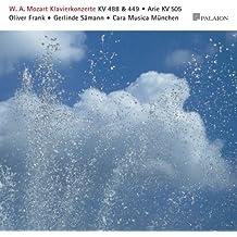 W.A.Mozart Klavierkonzerte KV 488+449 - Arie KV 505