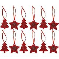 Stella Di Natale Con Feltro.Amazon It Stella Di Natale In Feltro Casa E Cucina