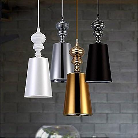 CAC Breve moderni lampadari sala da pranzo luci Pendente bianco /Nero /Golden /argento Spagna Jaime Hayon Design Metalarte Josephine,gold