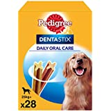 Pack de 28 Dentastix de uso diario para higiene oral para perros grandes     [Pack de 4]