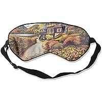Comfortable Sleep Eyes Masks Rural Road Printed Sleeping Mask For Travelling, Night Noon Nap, Mediation Or Yoga preisvergleich bei billige-tabletten.eu