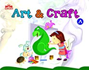 Gikso Art and Craft A – Activity Book for Kids Age 3-6 Years Old (English)