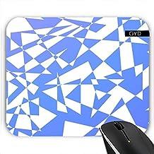 Mousepad - Durcheinander Von Dreiecken In Blau