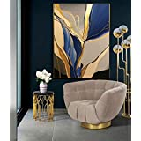 Modern abstract | art wall painting with frame, Print Canvas Poster Decorative Painting Living Room Home Decoration 50 x 35 c