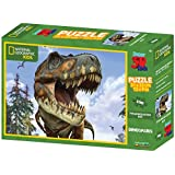 [Sponsored]Prime 3D National Geographic Tyrannosaurus Super 3D Puzzle (100 Pieces)