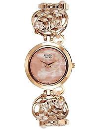 Titan Raga Aurora Analog Beige Dial Women's Watch-NK2540WM05