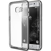 SAMSUNG Galaxy S6 Edge Plus Funda, VERUS Crystal Bumper [Color Plata Oscuro] Steel Silver [Slim Fit]