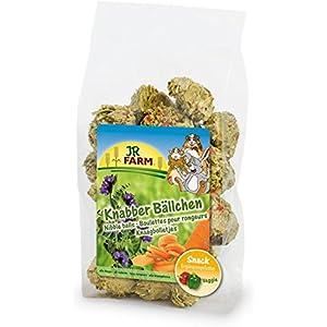 JR Farm Knabber-Bällchen | 7x 150g Vitaminsnack für Nager