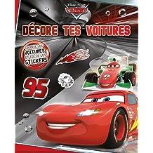 Décore tes voitures Cars : Colorie les voitures et colle les stickers