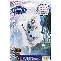 Dekoback 32202 de la torta de la vela de Frozen Olaf