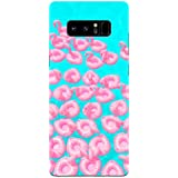 Samsung Note 8 Cases And Covers Flamingo All Over Cute For Animal Lovers Designer Printed Hard Shell Case