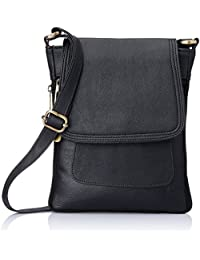 purses for women branded leather by EDGEKART® | Stylish shinning PU Leather Handbag For Women and Girls - Black