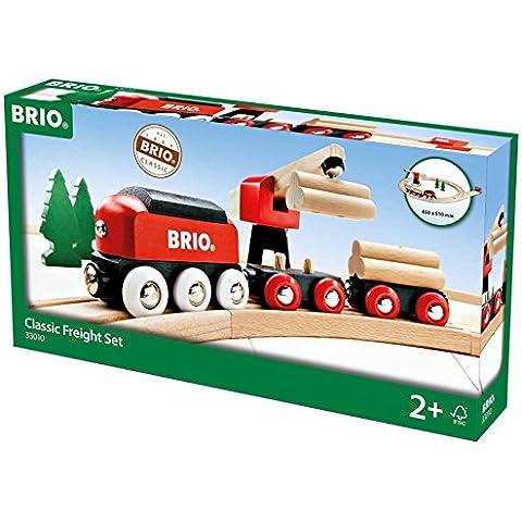 Brio - Set circuito de tren de mercancías clásico (33010)