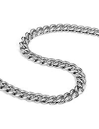 c54eb8db15e Urban-Jewelry Ultra épais et large en acier inoxydable pour homme Chaîne ( Argent