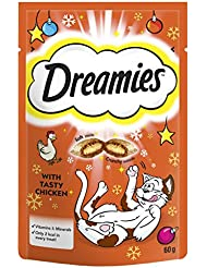 Dreamies Cat Treats with Tasty Chicken, 60 g