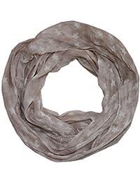 Sterne Loop Schal aus Seide & Baumwolle - batik Farben Seidenschal