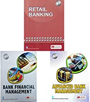 Retail Banking for CAIIB Examination (2018-2019) Session + Bank Financial Management + Advance Bank Management