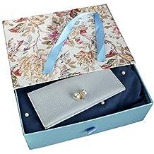 Emartbuy Coffret Cadeau Motif Floral - Porte-Monnaie   Foulard - Châle,  Écharpe, bb793548670