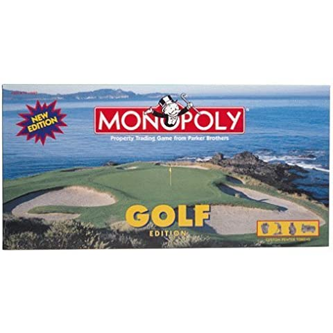 Monopoly Golf Edition with Custom Pewter Tokens by Parker Brothers