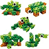 Click-A-Brick Rainforest Rascals 30pc Educational Toys Building Block Set - Best Gift For Boys And Girls