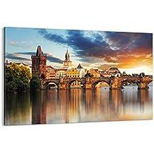 Cuadro sobre lienzo - de una sola pieza - Impresión en lienzo - Ancho: 120cm, Altura: 80cm - Foto número 2819 - listo para colgar - en un marco - AA120x80-2819