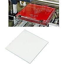 LEADSTAR 2 PCS Etiqueta Engomada de Cama Caliente de Impresora 3D Etiqueta de Cama Superficie de Construcción, 220 × 220mm