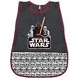 PERLETTI Delantal Infantil de Disney Star Wars - Bata Escolar Impermeable con Darth Vader y los