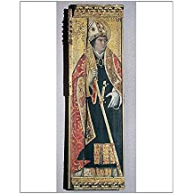 10x8 Print of Severus of Barcelona. 3th-4th centuries. Gothic altarpiece (14331662)