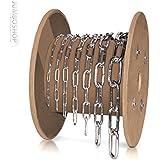 Jumbo-Shop 32lfm 5mm Rundstahlkette langgliedrig Rolle Stahlkette TOP