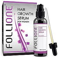 Follione - Sérum para el crecimiento del cabello - Para mujeres. Tratamiento anti caída de