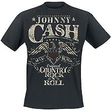Johnny Cash Original Country Rock n Roll T-Shirt schwarz