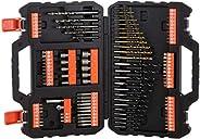 Black+Decker 109-Pieces Mixed Accessories Set A7200-XJ, Black
