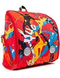 YUU JUUMP - Mochila ergonómica, con accesorios de diversión para viajes, escuela...