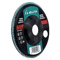 Bellota 50503-120 - Disco de láminas, desbaste piedra-carburo de silicio SIC 120 (base de poliamida, 115 mm)