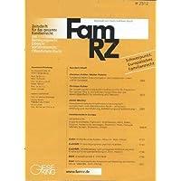 FamRZ Zeitschrift für das gesamte Familienrecht [Jahresabo]