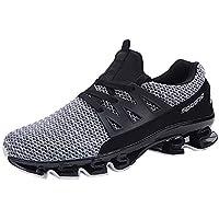 89c9422e9551 FNKDOR Herren Mesh Schuhe Slip on Laufschuhe Sneaker Outdoor Sportschuhe