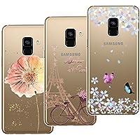 Yokata [3 Packs] Samsung Galaxy A8 Plus 2018 Hülle Transparent Weiche Silikon Handyhülle Schutzhülle TPU Handy... preisvergleich bei billige-tabletten.eu