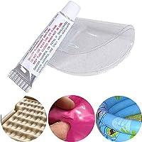 ZJYWYG Pegamento de reparación de Mantenimiento de Vinilo de 5/10 Piezas - Pegamento de Puntada para Piscina de PVC, Kit de Adhesivo Impermeable y Resistente a los Rayos UV (5)
