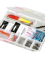 Fladen (Pirk y mar) Essentials pesca Terminal Tackle Starter Pack en una caja–20x 13x 4cm) [19–2556]