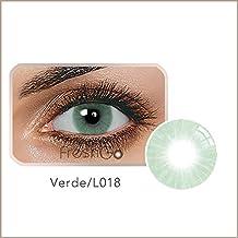 aa5be7774d4b0 Ncient Lentillas Colores 1 Año Suave, Lentes de Contacto Cosplay Ojos  Maquillaje