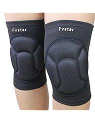 Sport Genouillères, fvstar genou de protection Gear pour jardinage, Randonnée, Cyclisme, ski, Football