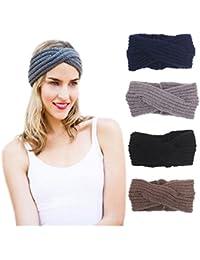 DRESHOW 1950 delle donne elastiche Modern Style Vintage Turbante fasce  ritorto 858630f3b46e