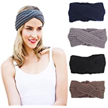 DRESHOW 1950 delle donne elastiche Modern Style Vintage Turbante fasce  ritorto b0eb9a393abe