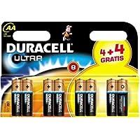 Duracell Ultra MX1500 Alkaline AA Batteries - 8-Pack