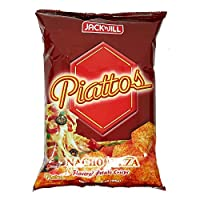 Jack N Jill Piattos Potato Crisps Nacho Pizza - 85 gm