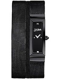 Reloj mujer JEAN PAUL GAULTIER–Cote de malla–acero PVD–Pulsera malla negro–33* 13,5mm–8503905